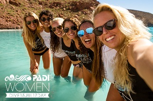 PADI Women's Day – all day gifts from us